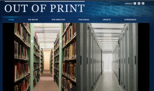 Out of Print web site