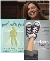 Annie Downs has used self publishing to impact young people with her self published book and obtain a contract with Zondervan.