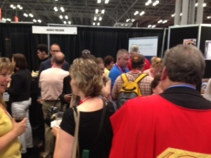 Smiling Archway authors packed the booth at BEA.