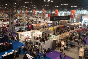 Book Expo America show floor