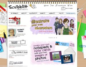 Scribblitt website home page