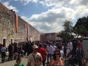 Havana Book crowds